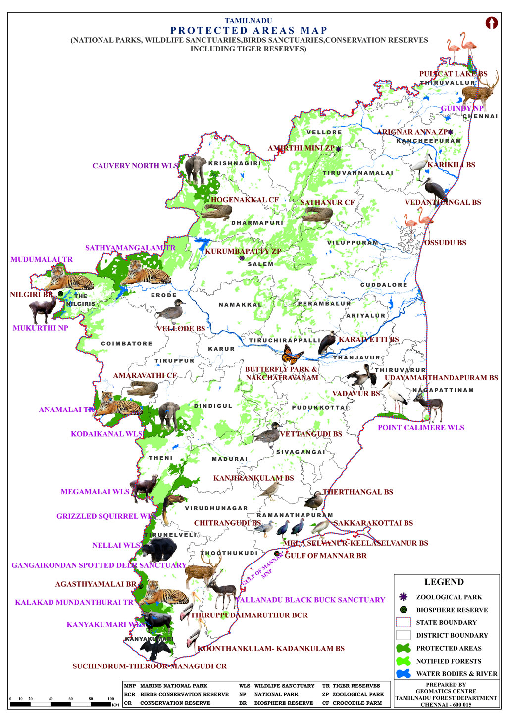 Tnforest tamil nadu forest department map gumiabroncs Image collections